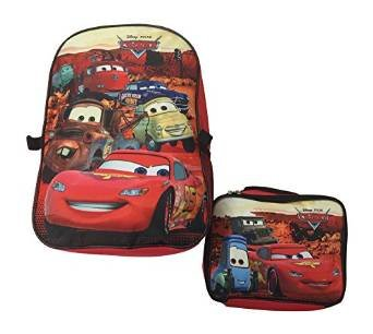 06d231e87698 Image Unavailable. Image not available for. Color  Disney Boys Cars  16 quot  Backpack with Detachable Insulated Lunch Bag