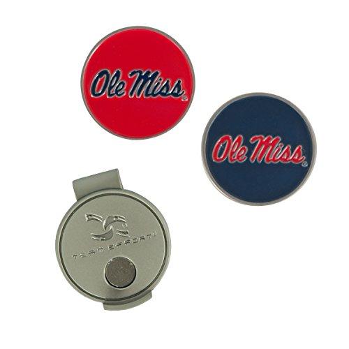 Team Effort Ole Miss Rebels Hat Clip & 2 Ball Markers]()