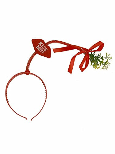 (Kiss Me Mistletoe Headband)