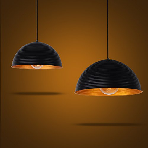 DYBLING Creative European Children'S Lamp Simple Modern Led Living room Pendant LIghts ceiling lamp Single Head nostalgia for single dance lights industrial wind , Diameter 30 cm