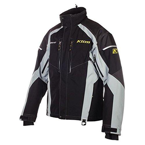 Breathable Parka (Klim Vector Parka Men's Ski Snowmobile Jacket - Black / Medium)