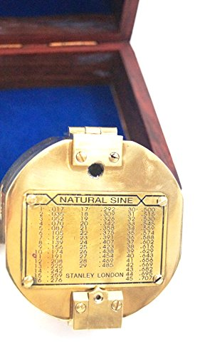 3' Brunton Style Compass w/Box - Navigational Instrument