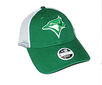 Toronto Blue Jays Women's St Patrick's Day Adjustable Hat Cap - Green from New Era Cap Company, Inc.