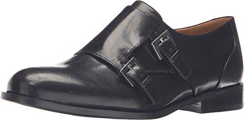Nine West Women's Toastie Black Leather Oxford 7.5 M