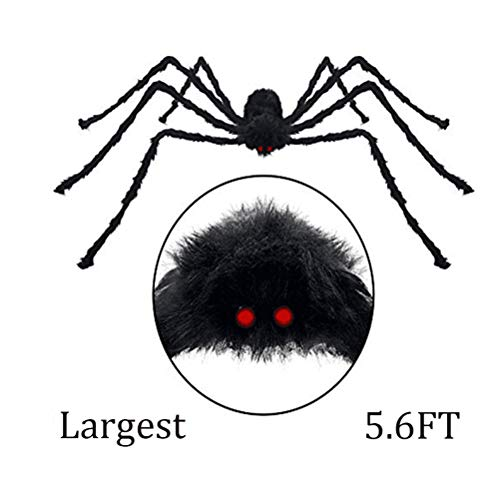 Beschoice Giant Spider, Halloween Decor Decorations Outdoor Yard
