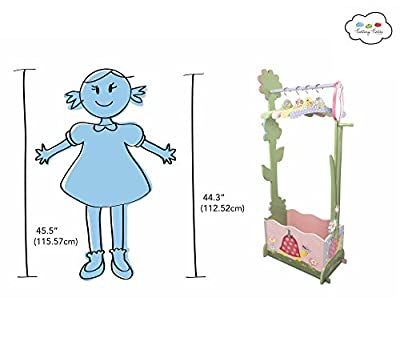 Fantasy Fields - Magic Garden Valet Rack w/Set of 4 Hangers | Educational Toys