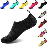 VIFUUR Water Sports Unisex Shoes Black - 11-12 W US