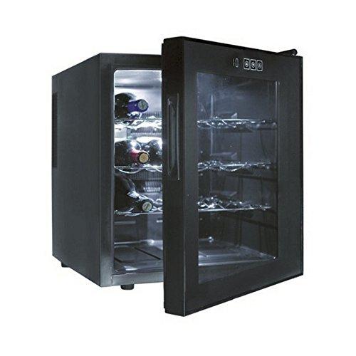 Lacor Black Line 69186 - Armario refrigerador, 16 botellas, 70 W, 46 litros Lacor_69186