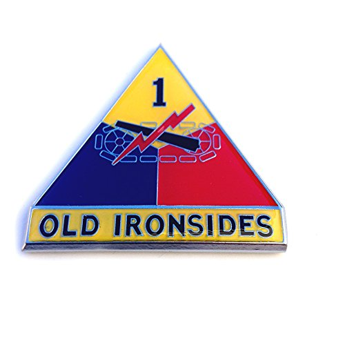 1st Armored Division Sticker Decal Emblem for Car Truck Auto US Army