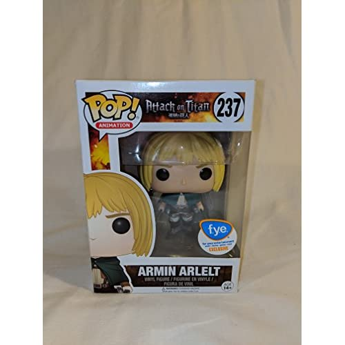 Funko POP! Attack on Titan: Armin Arlelt #237