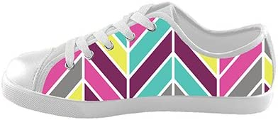 Daniel Turnai Fan Customized Chevron New Sneaker Canvas Kids Shoes