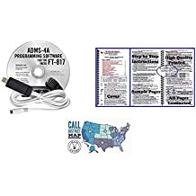 Yaesu FT-817ND Accessory Bundle -- Includes RT Systems Programming Software with Cable, Nifty! mobile radio short-form reference guide and Ham Guides TM Quick Reference Card