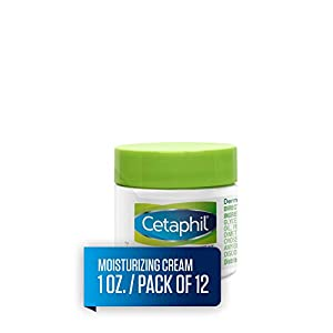 Cetaphil Moisturizing Cream for Very Dry, Sensitive Skin, Extra Strength, Fragrance Free, 1 Ounce (Pack of 12)