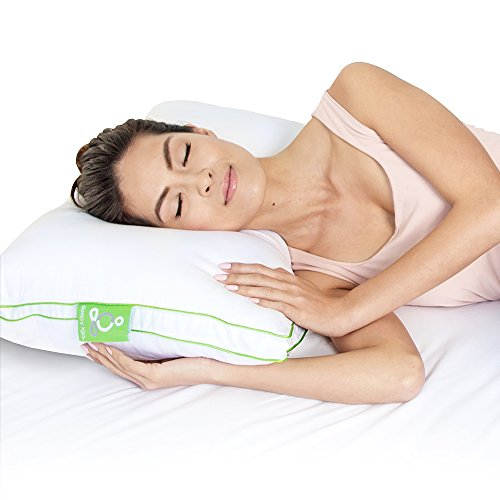 Sleep Yoga Everynight Pillow - Firm Support, Ergonomically D