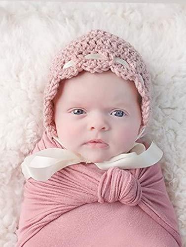 Amazoncom Newborn Baby Bonnet Newborn Girl Crochet Hat Newborn