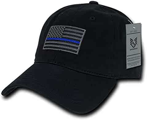 e3615fec3ae05 Rapid Dominance American Flag Embroidered Washed Cotton Baseball Cap