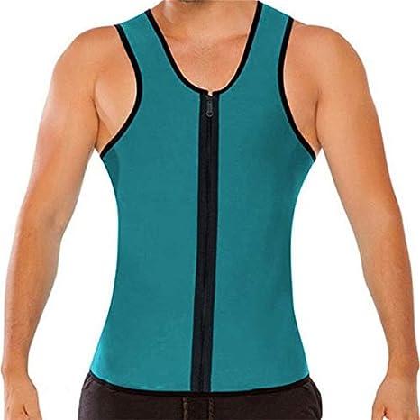 0bc5bd8867 Buy Petsdelite® Body Shaper Man Slimming Belt Belly Men Slimming Vest  Abdomen Side Zip Corset Neoprene Sweat Waist Trainer Male  A