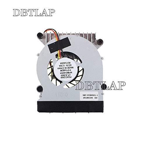 DBTLAP Nuevo Ventilador para Haier mini2 nT-A3850 NFB61A05H F1FT4B2M NBT-PCBMS01-1 Heatsink Ventilador