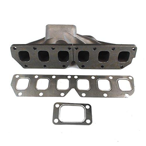 Turbo Manifold Cast - Rev9Power Rev9_MF-026; VW Golf R32 3.2 / Jetta Vag VR6 2.8 T3 Cast Turbo Manifold