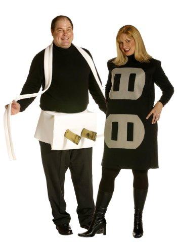 Plus Size Couples (Plug and Socket Set Costume Set - Plus Size - Chest Size)