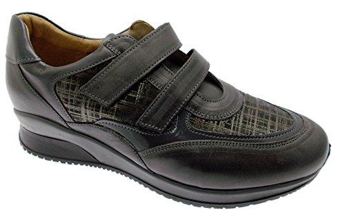 Loren Article C3720 orthopédique Femme Chaussure Sneaker Gris pvb3Y