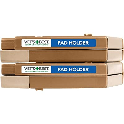 Vet's Best Floor Protection Dog and Puppy Pad Holder, Fits Regular and Large Pads