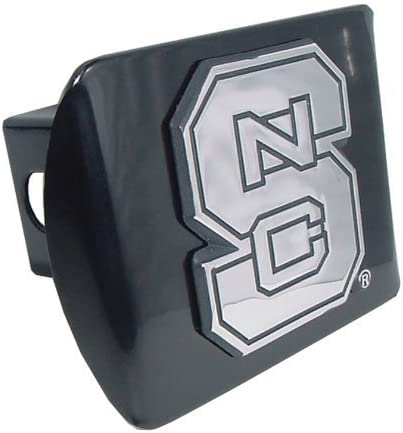 Trik Topz Trailer Hitch Cover High Impact ABS NCAA NC State Wolfpack Fits 2in Receiver