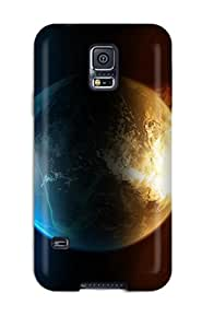 Brand New S5 Defender Case For Galaxy (fire Water)