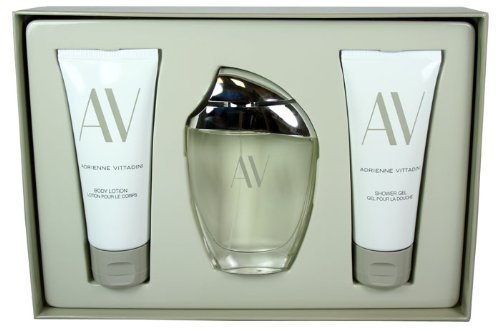 (Adrienne Vittadini 3pc Perfume Gift Set , 3.0 Oz Edp, 3.3 Oz Body Lotion, & 3... by Adrienne Vittadini)