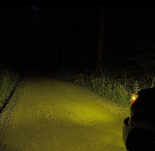 2x Jurmann Aqua Vision H7 55W 12V Halogen Lampen Set Gelb Yellow Abblendlicht Fernlicht Nebelscheinwerfer