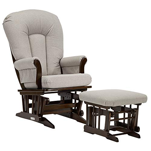 Dutailier Sleigh 0340 Glider Chair with Ottoman Included