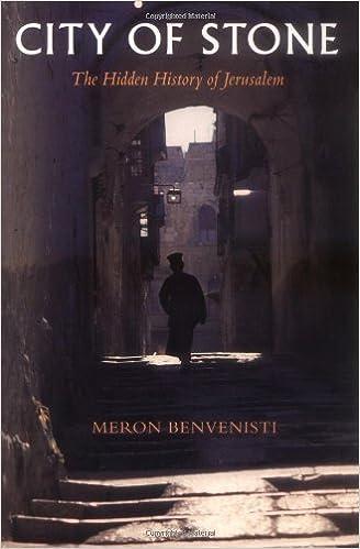City of Stone: The Hidden History of Jerusalem by Meron ...