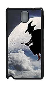 Samsung Note 3 Case Halloween Witch PC Custom Samsung Note 3 Case Cover Black