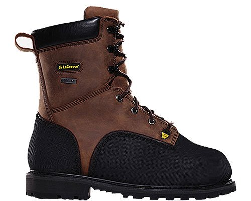 LaCrosse Men's Highwall 8'' 1000G Boots,Brown,11 W US