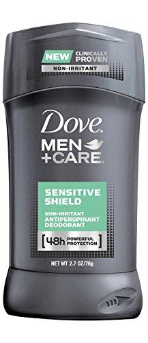 Dove Men + Care déodorant anti-transpirant, sensibles au bouclier 2.7 oz