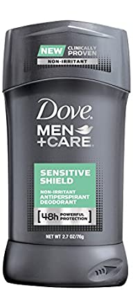 Dove Men+Care Antiperspirant Deodorant, Sensitive Shield 2.7 oz