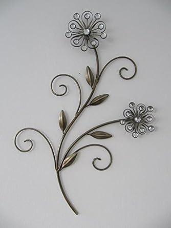 Perfekt Wanddekoration Blume Wand Deko Für Innen Und Außen Hauswand Wohnzimmer