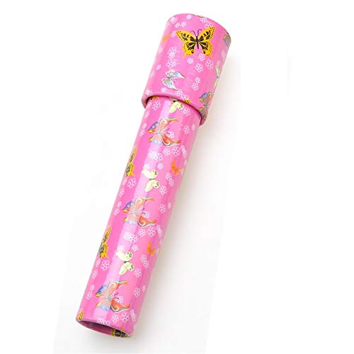 Yingealy Unique Gift 1 pc Creative Rotating Kaleidoscope Children's Educational Toy(Pink) by Yingealy