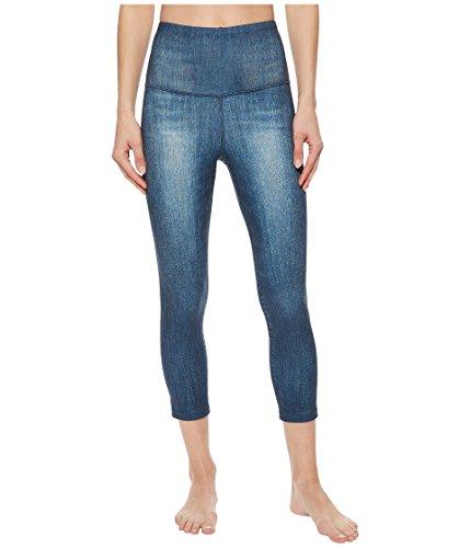 o High-Rise Crop Pants TNF Dark Indigo Texture Women's Capri ()