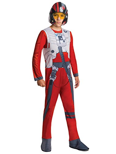 Snowtrooper Costume Kids (Rubie's Costume Star Wars Episode VII: The Force Awakens Value Poe Child Costume, Large)