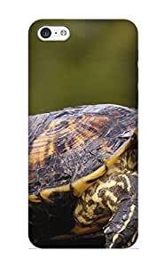 Christmas Gift - Tpu Case Cover For Iphone 5c Strong Protect Case - Animal Turtle Design