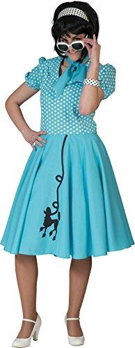 Polka Dot Poodle Dress - 3