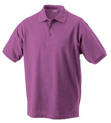 Klassisches Hochwertiges Polohemd (S - 3XL) M,Purple