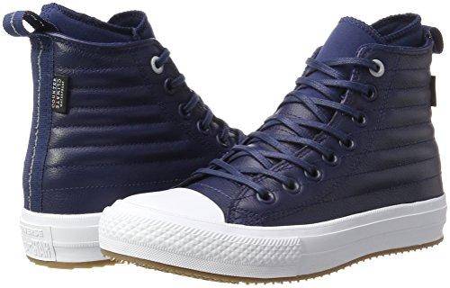Wp Midnight Navy A Hi Ctas Collo Unisex Converse wolf Navy midnight – Alto Boot Sneaker 471 Grey Adulto Blu 1XI5w