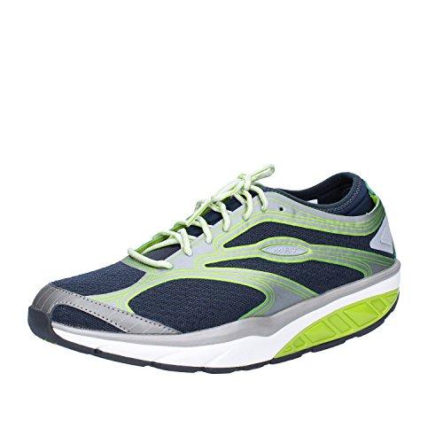 MBT Women 6 Blue Textile US Sneakers Green 6 5 37 EU TCOpx7qT