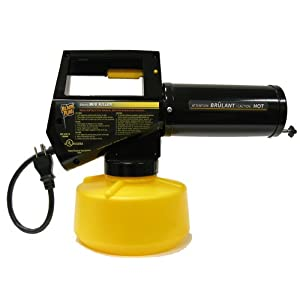Black Flag 190107 Electric Insect Fogger for Killing and Repelling Mosquitoes, Flies, and Flying Insects Outdoors