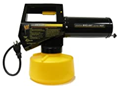 The Black Flag 190107 Electric Fogger is small, lightweight,and easy to operate - just plug in.The secret is in the microscopic particles it produces - up to 7 times finer than mist! The fog floats and penetrates deep into landscaped areas ...