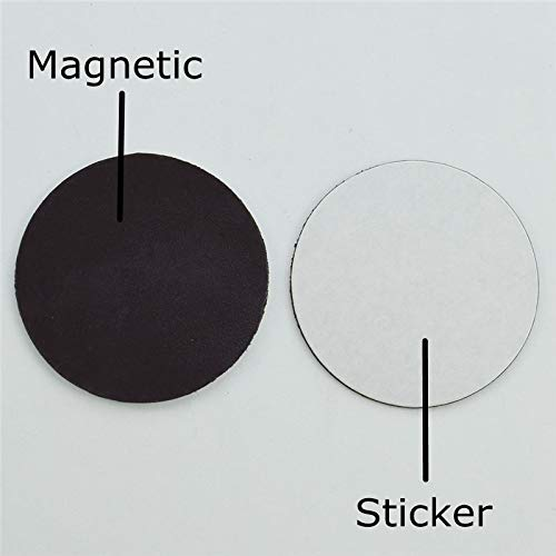 WASEX 10 Pcs 28 Mm 38 Mm 48 Mm Pegatinas Magn/éticas Circulares Im/án De Nevera Pizarra Blanca Pizarra Hecha A Mano Material De///Bricolaje/Accesorios/38Mm
