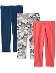 Amazon Essentials Girl's 3-Pack Capri Legging