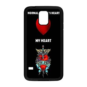 [AinsleyRomo Phone Case] For Samsung Galaxy S5 -Bon Jovi Rock Music Band-Style 15